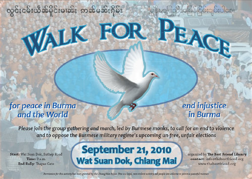 Walk for Peace in CM 21 Sept 2053