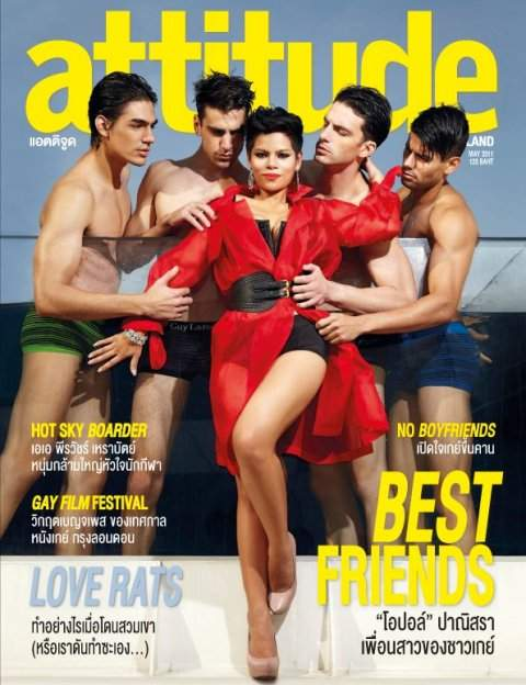 Attitude Thailand Gay Magazine May 2011 Front Cover