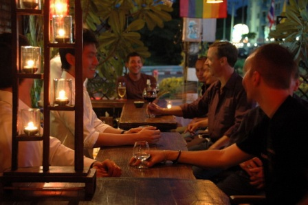 Soho Gay Bar in Chiang Mai