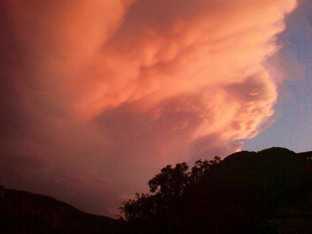 Evening Thunder Storm