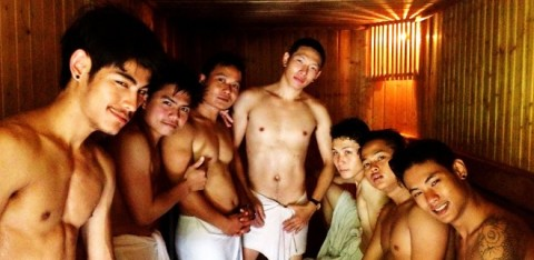 Chiang Mai Gay Sauna Boys