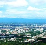 Panorama view of Chiang Mai