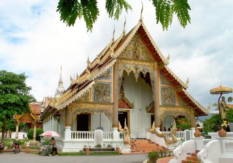 Wat Phra Singh Chiang Mai © Takeaway - Wikimedia  Licence: Creative Commons
