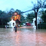 Flooded Chiang Mai Plaza Hotel