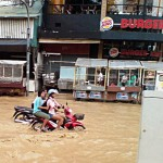 Flood Changklan Chiang Mai