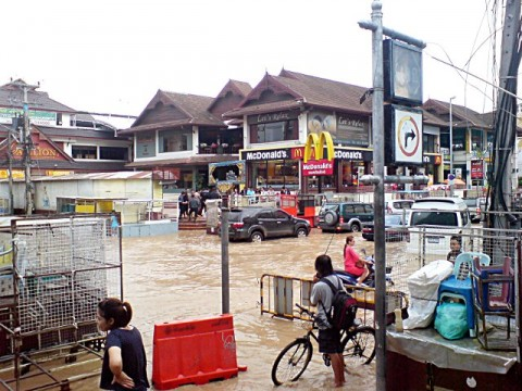 Chiang Mai flood Sept 2011