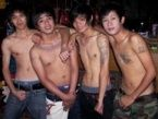 Cute Thai boys in Chiang Mai Gay Bar