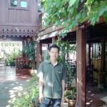 Khun Mai in Garden