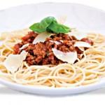 Pasta - Spaghetti Bolognaise