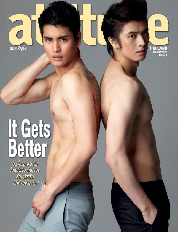 from Kashton attitude magazine gay