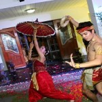 Thai traditional dancers at Mansfield residence