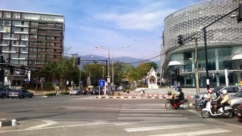 Maya Mall, Think Park and the Eastin Hotel
