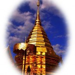Wat phra doi suteph stupa