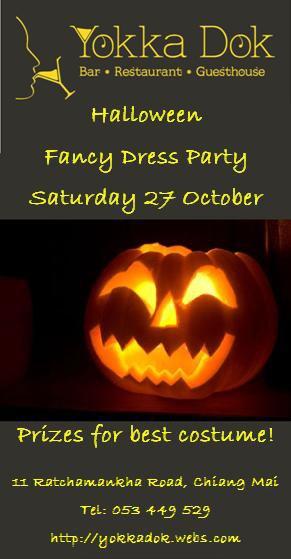 Halloween Party at Yokadok