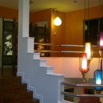 Sixty Nine Club -inside stairs view