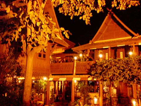 Teak wood House in Chiang Mai