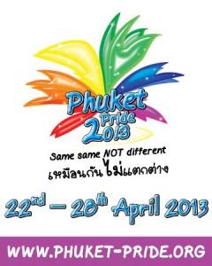 Phuket Pride 2013 Gay Festival - Logo