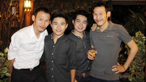 Gay boys at Radchada Cafe