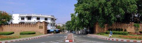 Suan Dok gate Chiang Mai