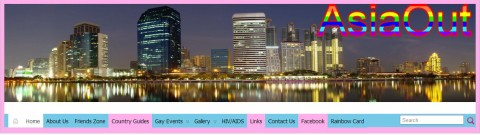 AsiaOut Website - LGBT Community website