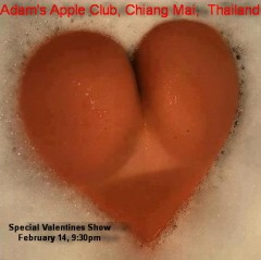Adam's Apple Club Chiang Mai - Valentine's Day