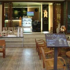 Caffe' B{e}arista