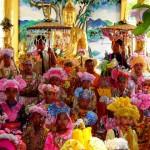 Crystal Princes at Poy Sang Long Festival