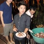 Barbecue at Radchada Garden Cafe