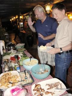 Free Food at Radchada Garden Cafe