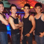 Boys at RAM bar - Chiang Mai Gay Bar