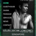 Club One Seven Chiang Mai - Website Menu