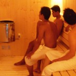 sauna at Club One Seven