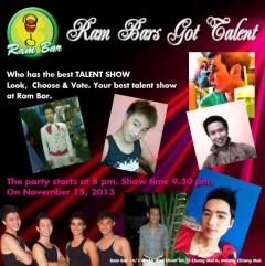 Ram Bar's Got Talent - Gay show in Chiang Mai