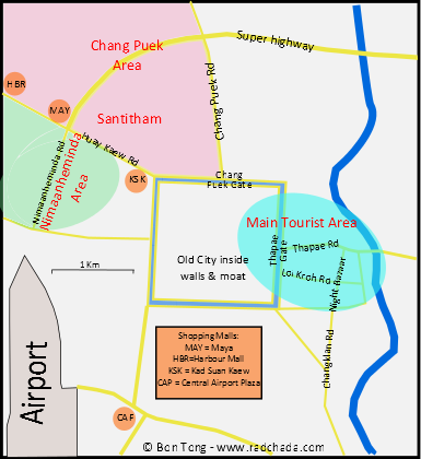 The gay areas of Chiang Mai