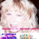 Shauna's Birthday Party at Soho Bar