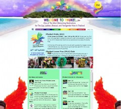 Phuket Pride - Website design by Bon Tong Productions