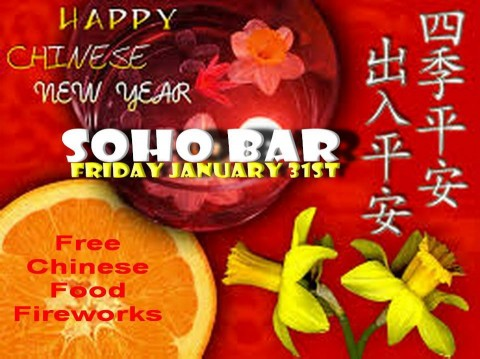 Chinese New Year at Soho Bar