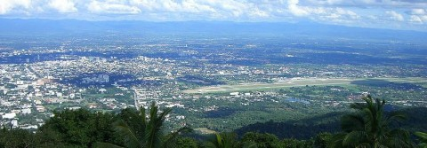 Chiang Mai – The view from Doi Suteph
