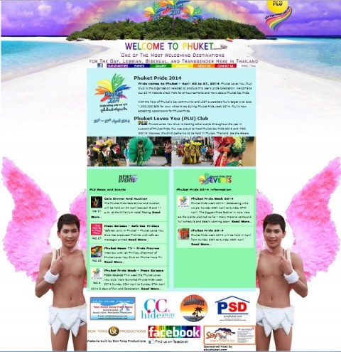 Phuket Pride 2014 Website