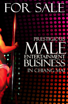 Gay Business for Sale in Chiang Mai - Gay Club and Bar
