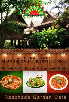 Radchada Garden Café - Gay friendly boutique pizza in Chiang Mai