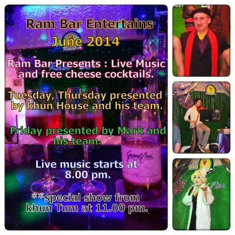 Entertainment at Ram Bar - Gay Chiang Mai