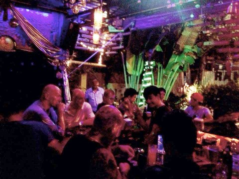 A busy night at Ram Bar Chiang Mai