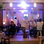 Khun Run Serving beer at R&A Bar