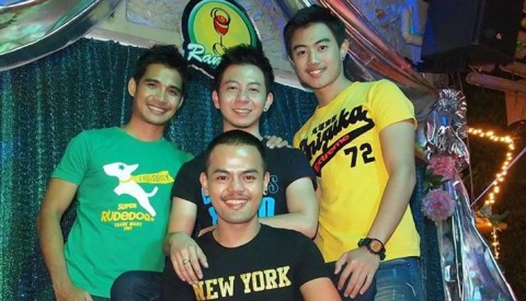 Wat and the guys looking forward to serve you at Ram Bar.