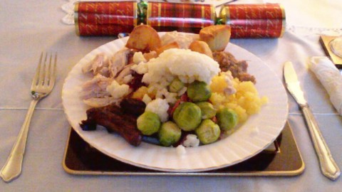 Delicious Christmas Dinner with all the trimmings