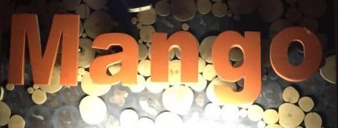 Mango bar Chaing mai sign