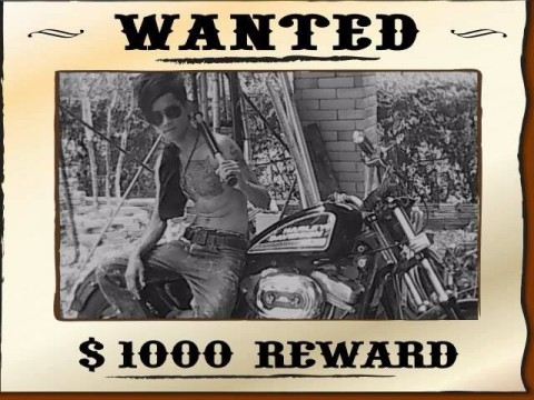 Shan Boy Wanted Poster