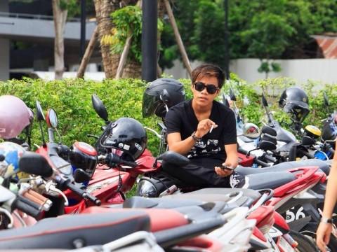 Shan boy motorbikes