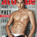 Gay Thailand Attitude magazine - front cover January 2015